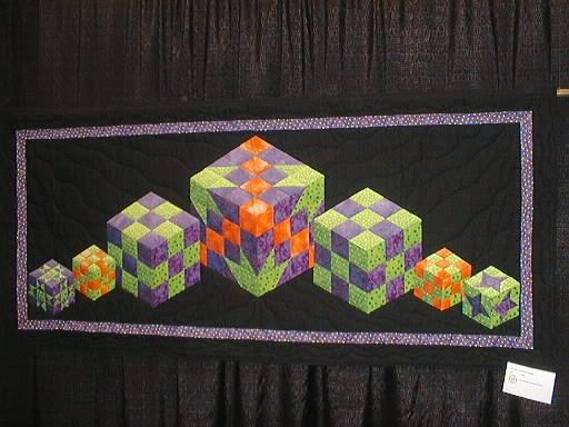 Wonderful quilt made by Jane Rogers and Rae Giddens
