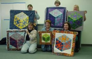Quilters from the El Paso Quilt Guild