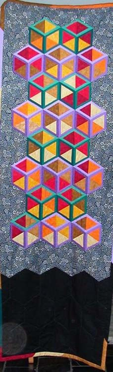 Inner Glow quilt by Jackie Masson