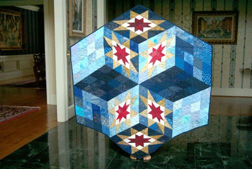 Quilt made by Pam Cornutt