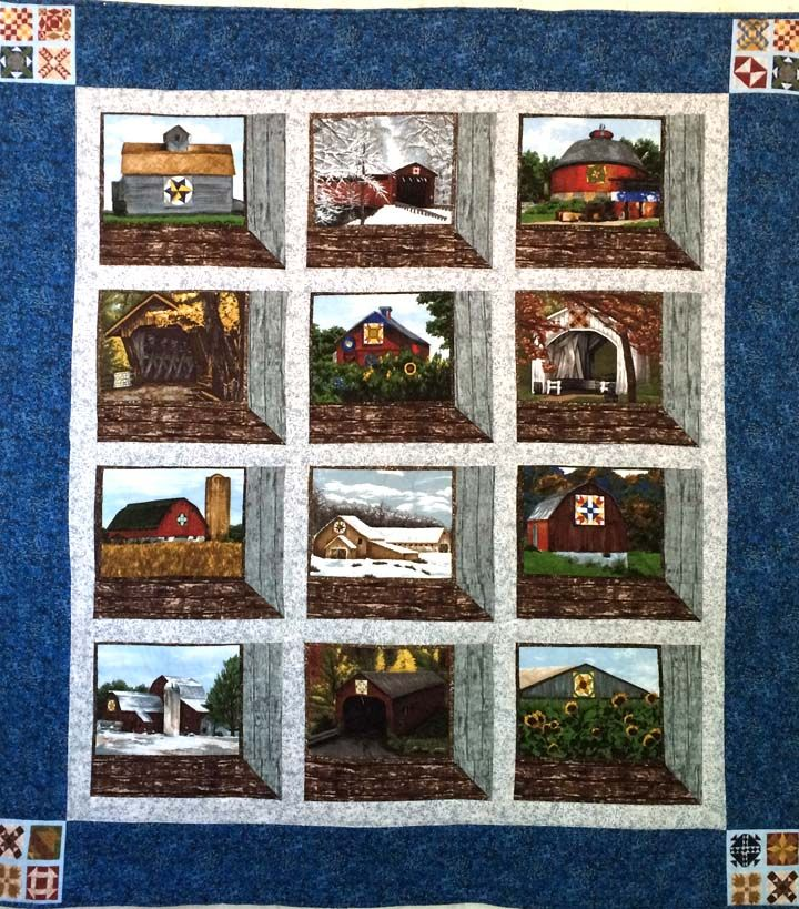 Quilt Barns - Attic Windows