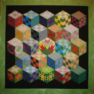 Quilt made by Sarah Stevens