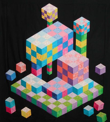 """Building with Blocks"" made by Sheryl Pastore"