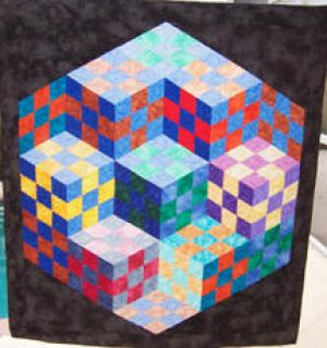 Quilt made by Sue Glasnapp