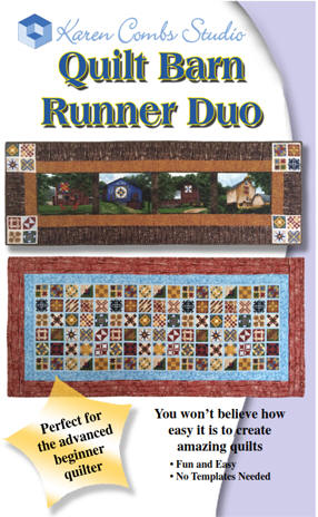 Quilt Barn Runner Duo