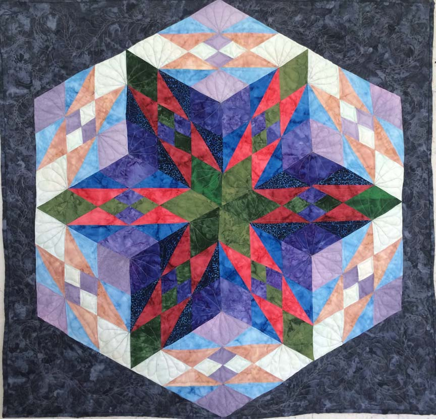 QUILTS OF ILLUSIONS - (trunk show)