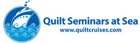 Quilt Seminars at Sea logo