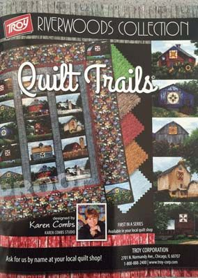 Quilt Trails ad